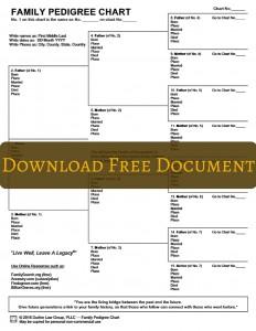 Free Pedigree Chart